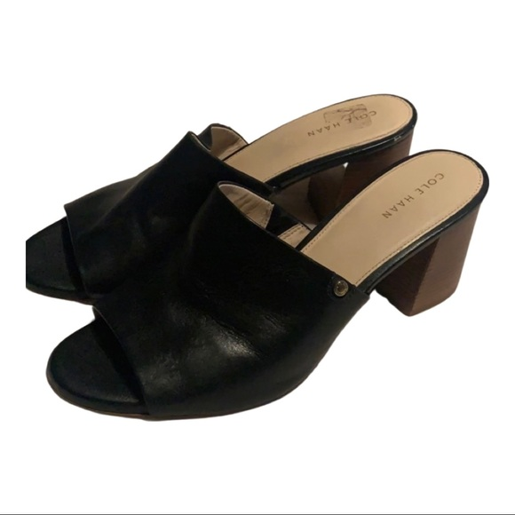 Cole Haan Shoes - Cole Haan leather mules
